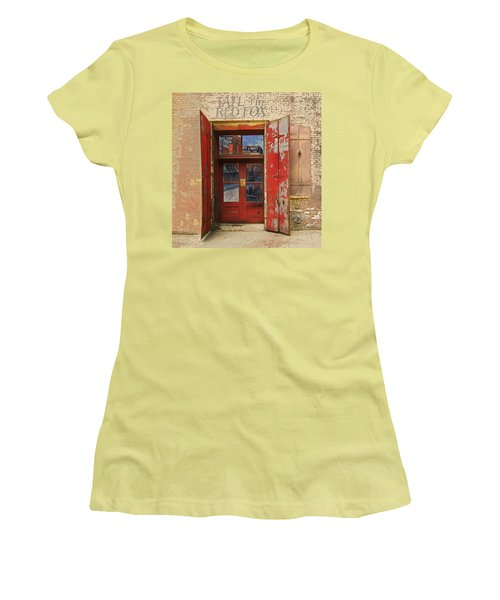 Entry Into The Past Women's T-Shirt (Junior Cut) by Jeff Burgess