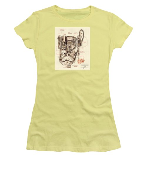 Epa Application #012938rt34 Women's T-Shirt (Athletic Fit)