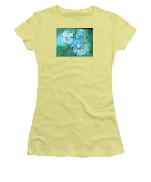 Escape To Serenity Women's T-Shirt (Athletic Fit)