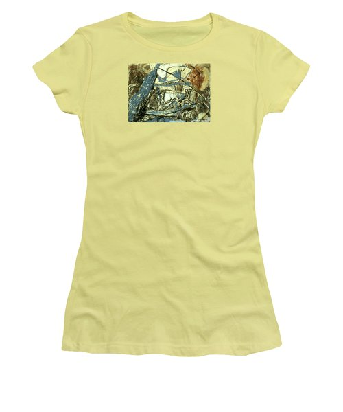 Escaping The Whirlwind Women's T-Shirt (Athletic Fit)