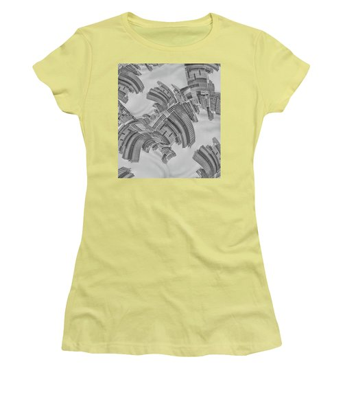 Escheresque Nyc Women's T-Shirt (Athletic Fit)