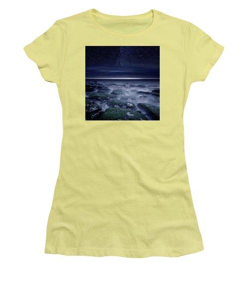 Women's T-Shirt (Junior Cut) featuring the photograph Eternal Horizon by Jorge Maia