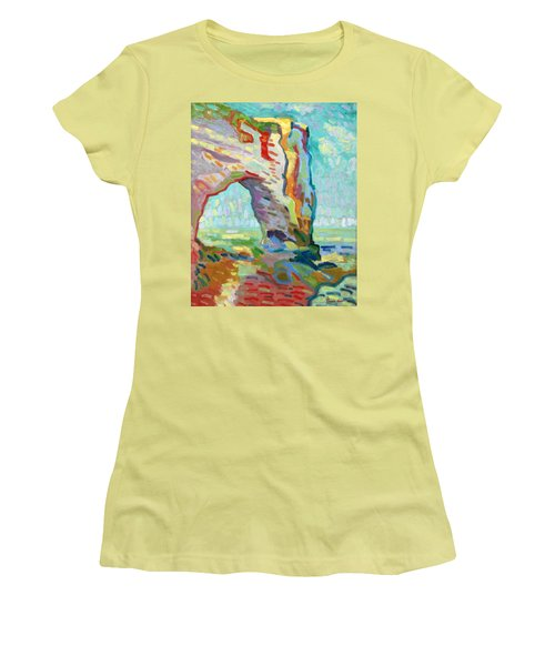 Etretat  Women's T-Shirt (Athletic Fit)