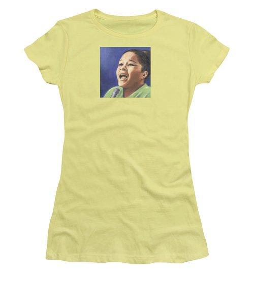 Etta James Women's T-Shirt (Athletic Fit)