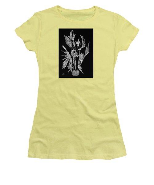 Euphoric Women's T-Shirt (Junior Cut) by Charles Cater