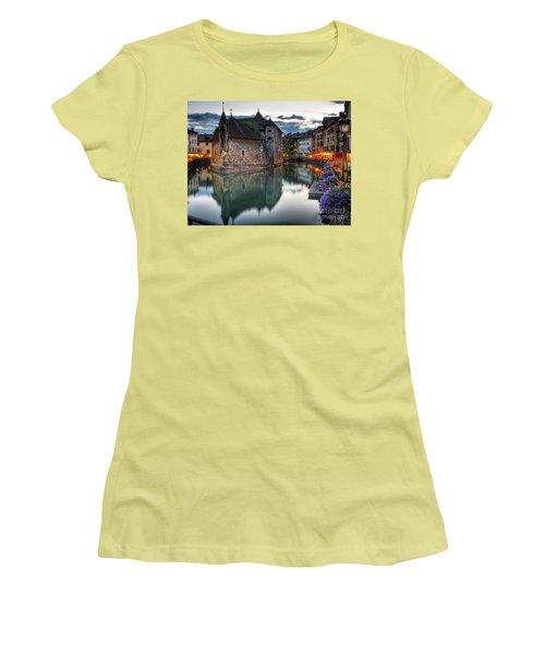 European Beauty 2 Women's T-Shirt (Junior Cut) by Rod Jellison