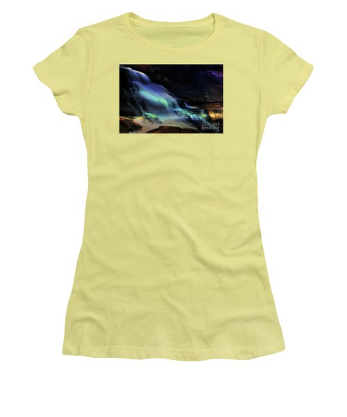 Evening Falls Women's T-Shirt (Athletic Fit)