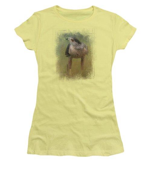 Evening Hawk Women's T-Shirt (Junior Cut)
