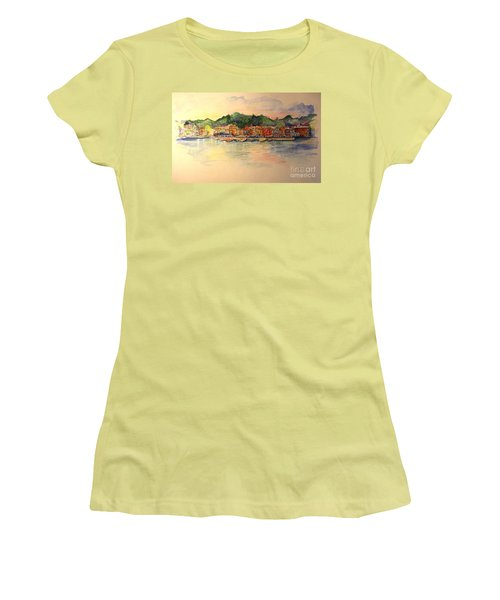 Skaneateles Village Women's T-Shirt (Athletic Fit)