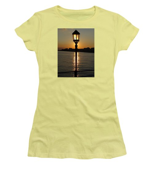 Evening Light Women's T-Shirt (Junior Cut) by John Topman