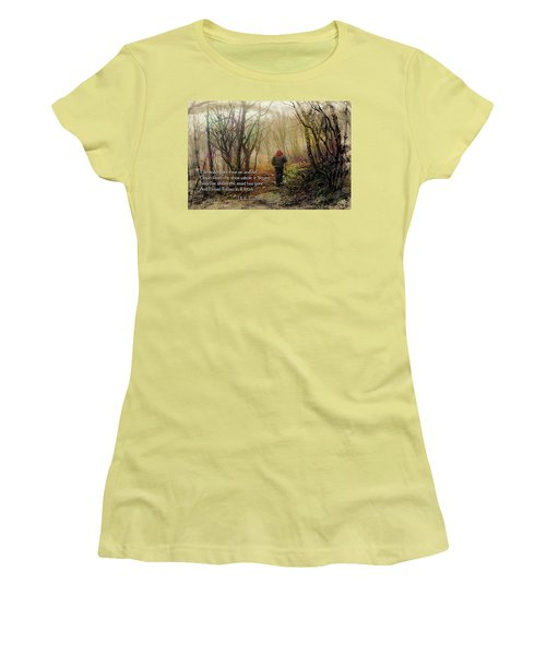 Ever On And On... Women's T-Shirt (Junior Cut) by Jessica Brawley