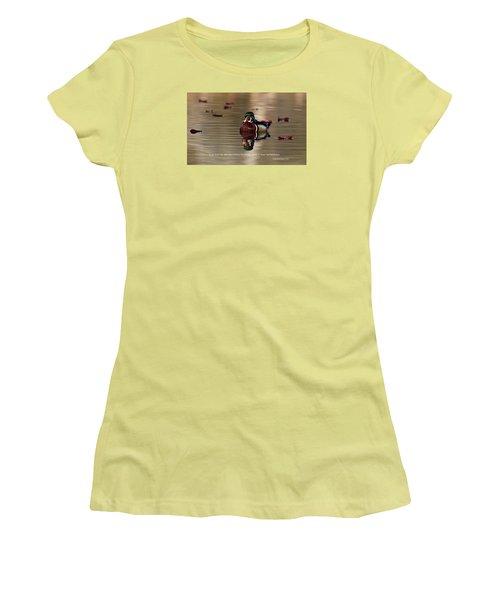 Women's T-Shirt (Junior Cut) featuring the photograph Every Morning by Lynn Hopwood