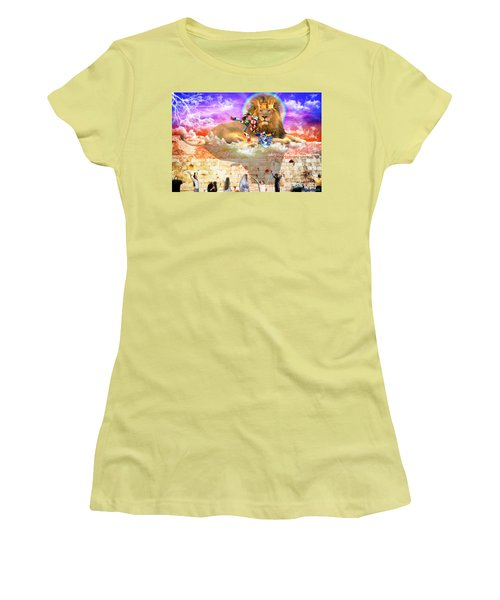 Every Tribe Every Nation Women's T-Shirt (Junior Cut) by Dolores Develde