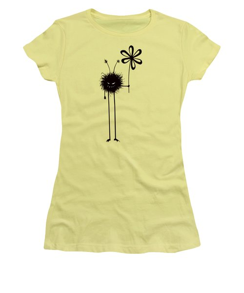 Evil Flower Bug Women's T-Shirt (Athletic Fit)
