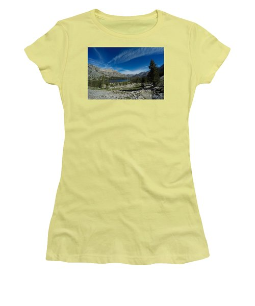 Evolution Valley Women's T-Shirt (Athletic Fit)