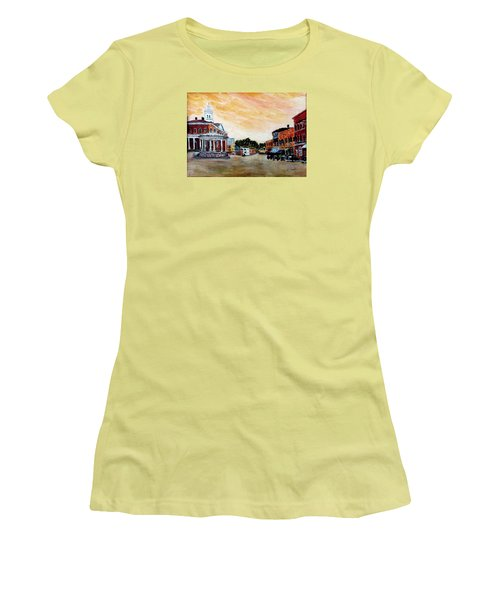 Exeter Nh Circa 1920 Women's T-Shirt (Athletic Fit)