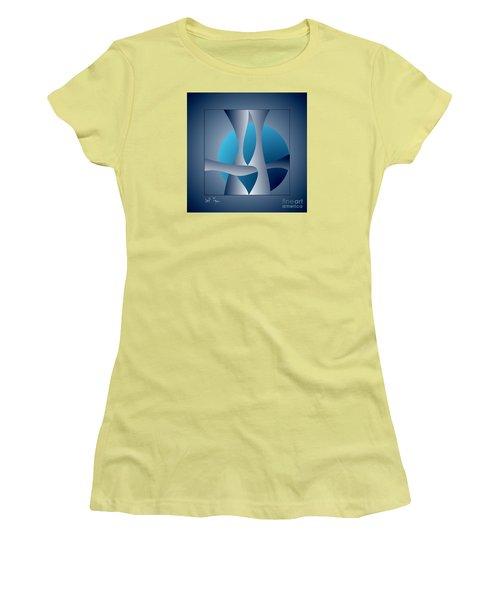 Expert Debate Women's T-Shirt (Junior Cut) by Leo Symon