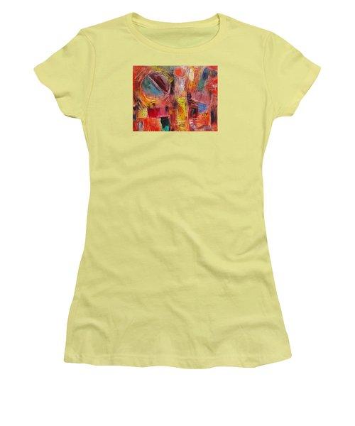 Expression # 8 Women's T-Shirt (Junior Cut) by Jason Williamson