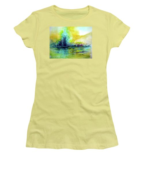 Expressive Women's T-Shirt (Junior Cut) by Allison Ashton