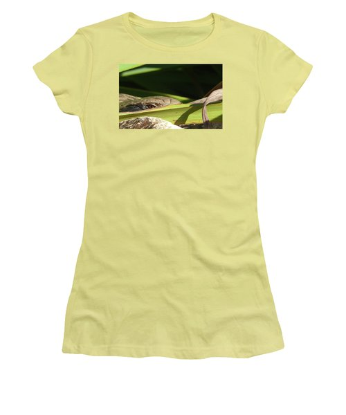 Eye Contact Women's T-Shirt (Athletic Fit)