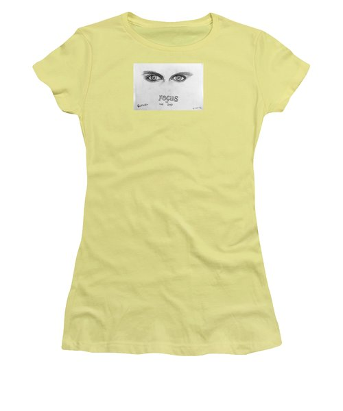 Focus On The Good Women's T-Shirt (Athletic Fit)