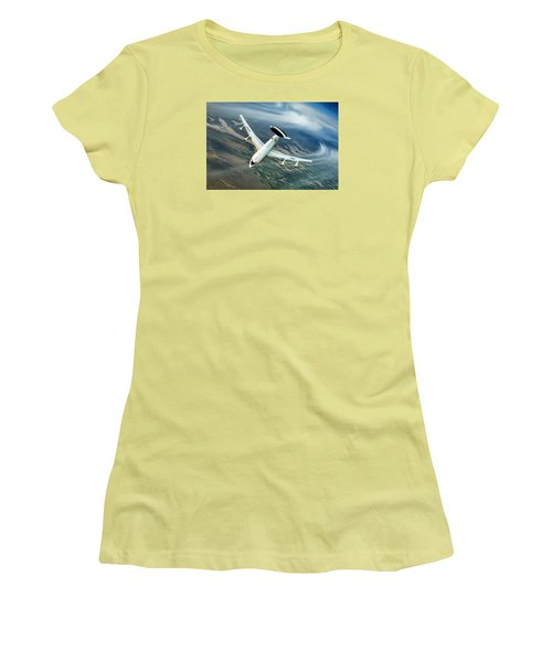 Eye In The Sky Women's T-Shirt (Junior Cut) by Peter Chilelli