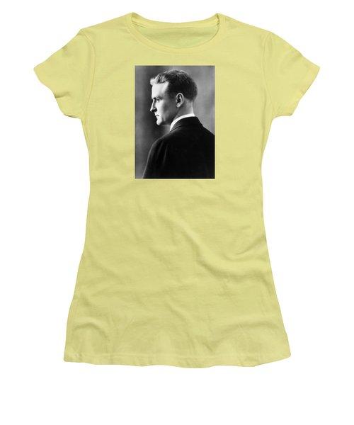 F. Scott Fitzgerald Circa 1925 Women's T-Shirt (Athletic Fit)