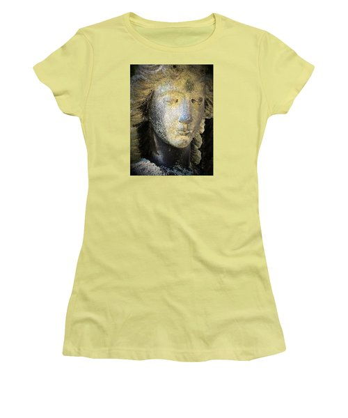 Face Of An Angel 10 Women's T-Shirt (Junior Cut) by Maria Huntley