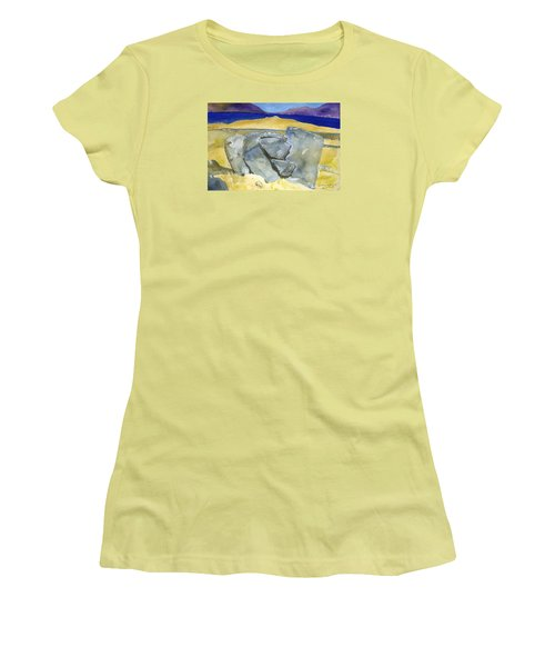 Faces Of The Rocks Women's T-Shirt (Athletic Fit)