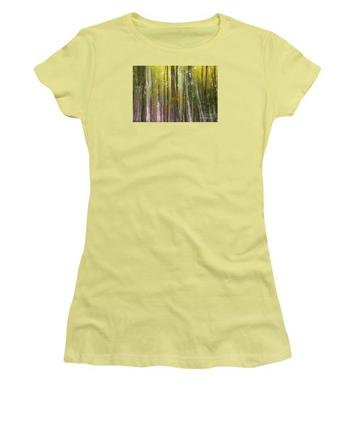 Fairy Forest I Women's T-Shirt (Junior Cut) by Yuri Santin