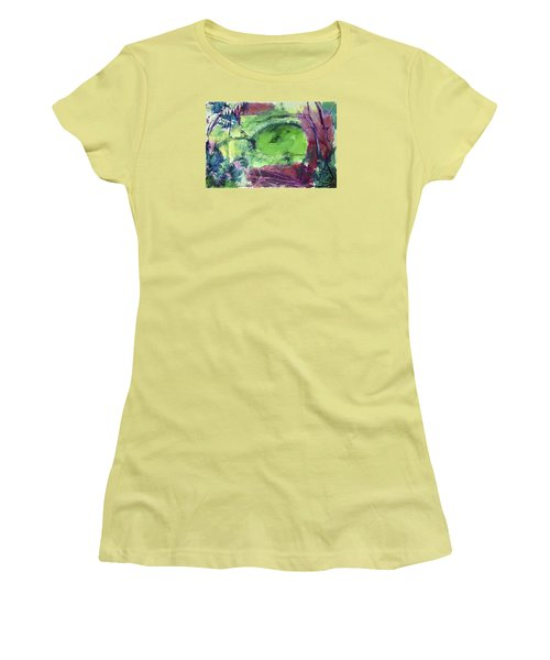 Fairy Ring, Lasso Forest Women's T-Shirt (Athletic Fit)