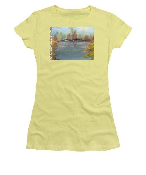 Fall Colors Women's T-Shirt (Junior Cut) by Thomas Janos