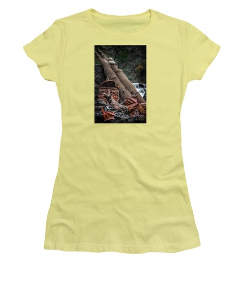 Fall Creation Women's T-Shirt (Athletic Fit)