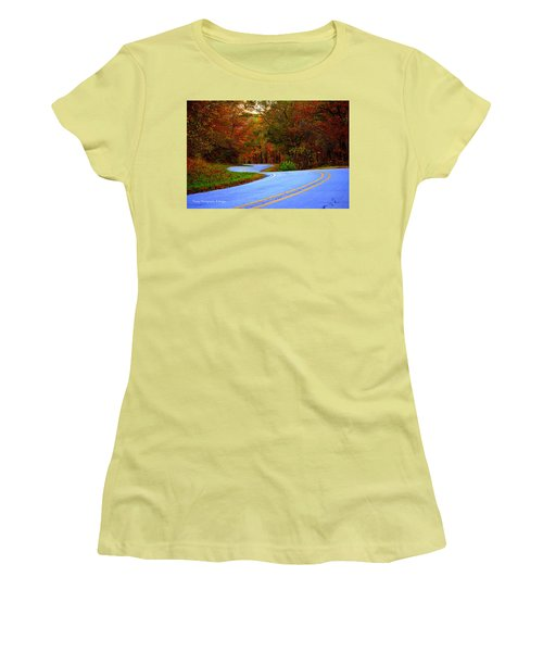 Fall Drive Women's T-Shirt (Athletic Fit)