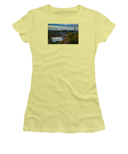 Fall Evening In Richmond Women's T-Shirt (Athletic Fit)