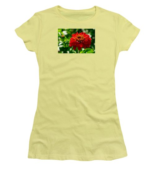 Fall Flower Women's T-Shirt (Athletic Fit)