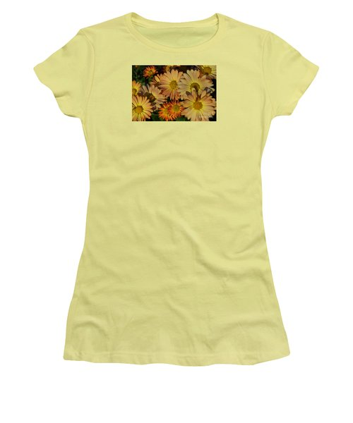 Fall Flowers In Madison  Women's T-Shirt (Athletic Fit)