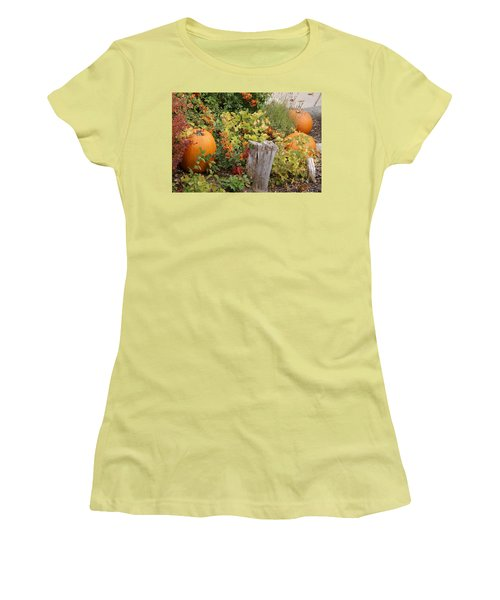 Fall Garden Women's T-Shirt (Athletic Fit)