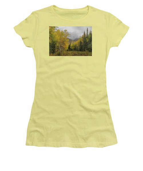 Fall Glow Women's T-Shirt (Athletic Fit)