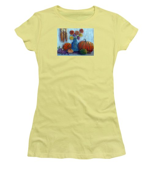 Autumn Still Life Women's T-Shirt (Athletic Fit)