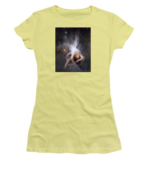 Falling Star Women's T-Shirt (Junior Cut) by Witold Pruszkowski