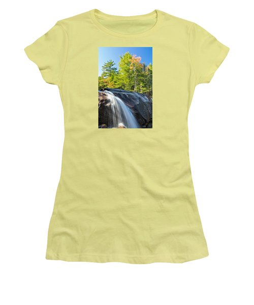 Falls Diana's Baths Nh Women's T-Shirt (Athletic Fit)