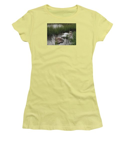 Family Time Women's T-Shirt (Junior Cut) by Beth Saffer
