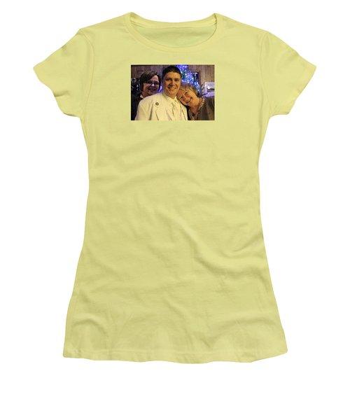 Family Women's T-Shirt (Junior Cut) by Walter Chamberlain