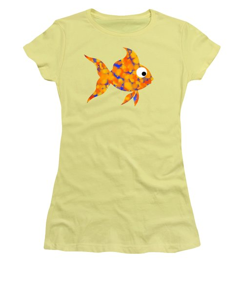 Fancy Goldfish Women's T-Shirt (Junior Cut) by Christina Rollo