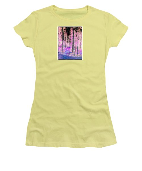 Fantasy Forest Women's T-Shirt (Athletic Fit)
