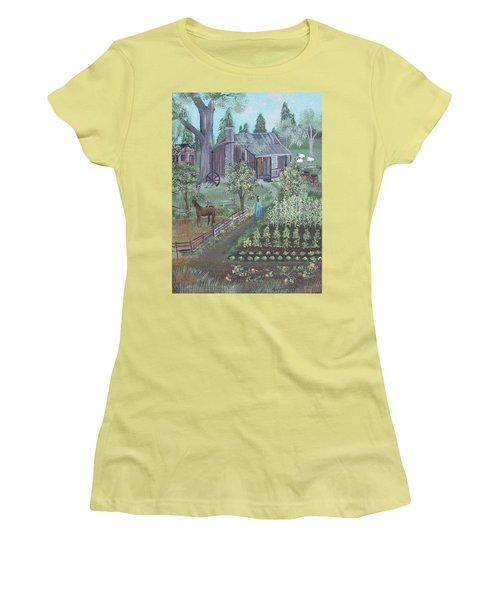 Farmstead Women's T-Shirt (Athletic Fit)