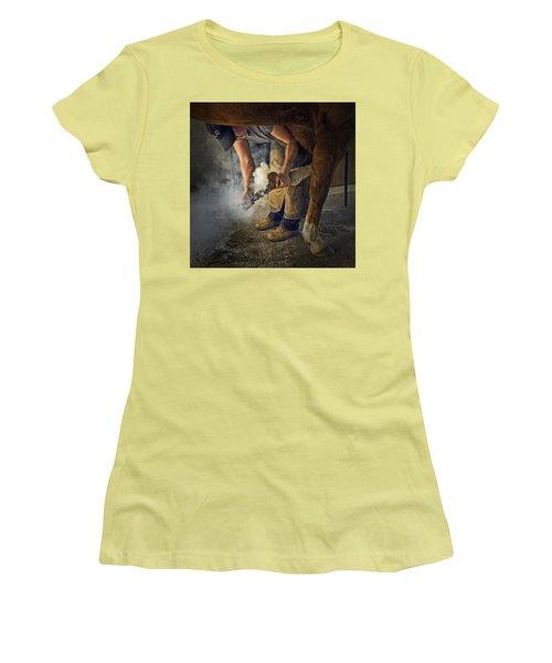 Farrier Visit - 365-46 Women's T-Shirt (Junior Cut)
