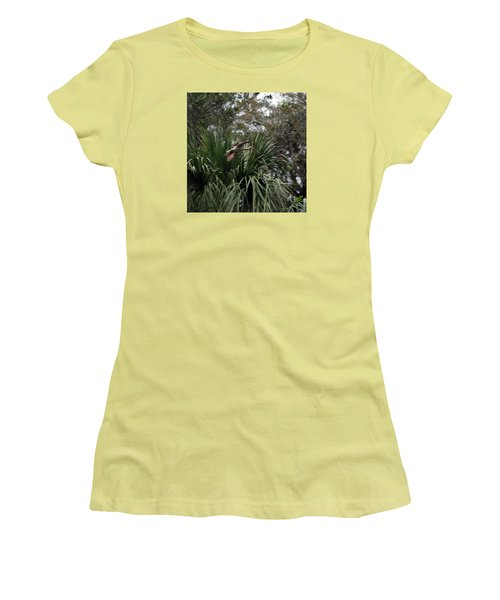 Feather 8-10 Women's T-Shirt (Junior Cut) by Skip Willits