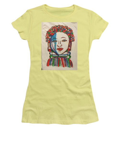 Bondo Mask T Shirt - Sierra Leone Women's T-Shirt (Athletic Fit)